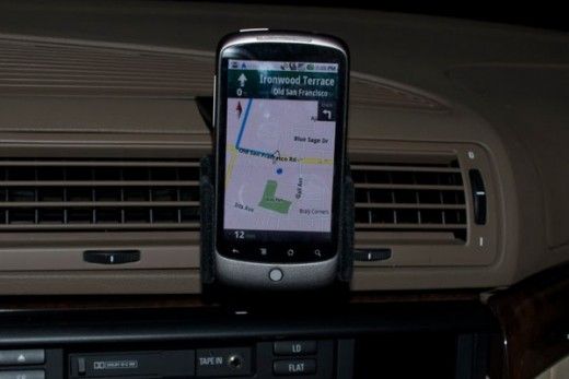 Nexus One with GPS