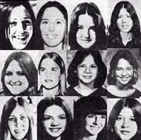 Ted Bundy's many victims; May God keep you near