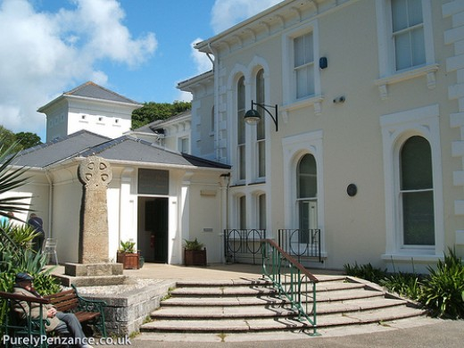 Penlee House Art Gallery, Cornwall.