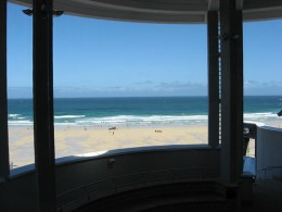 Cornish Art Galleries: The Tate St Ives views.