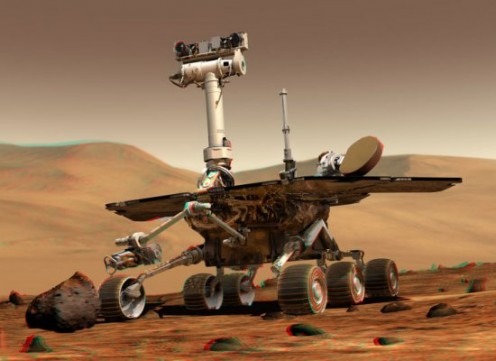 Mars Rover. (Photos public domain)