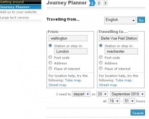 tfl journey planner