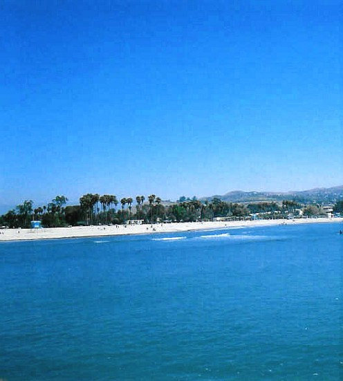 - Doheny Beach - Looking Inland -