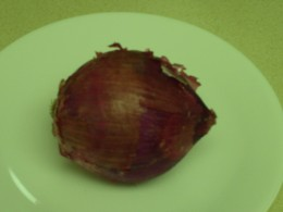 One Red Onion