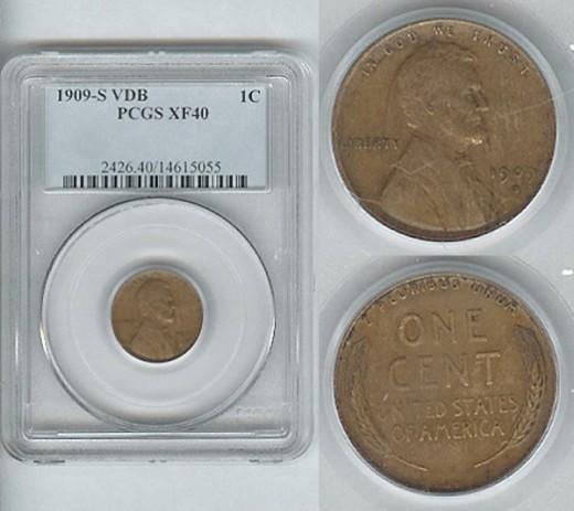 1909 S VDB Graded