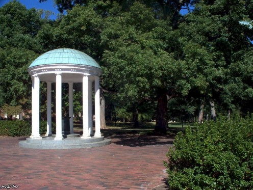 At the heart of campus stands the visual symbol of the University of North Carolina at Chapel Hill. For many years the Old Well served as the sole water supply for Old East and Old West dormitories.