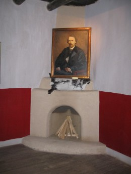 Corner of Room in Kit Carson's Home in Taos, NM