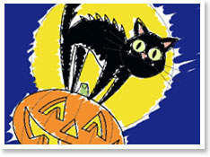 A Typical Image Seen on Halloween