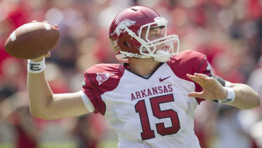 Arkansas beat Georgia in Athens 31-24.
