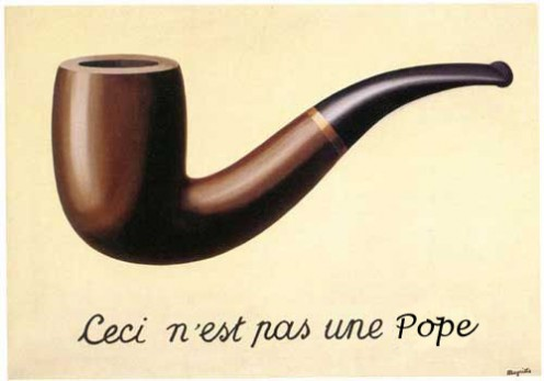 What the Pope's pipe may look like