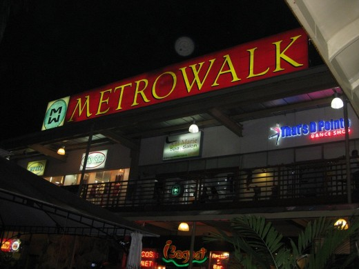 Metro Walk is Pasig City
