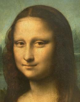 The Mona Lisa by Leonardo da Vinci. Courtesy Wiki Commons