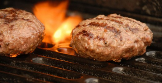 There is nothing better than a burger on a grill if it's chicken or any other type of ground meat.