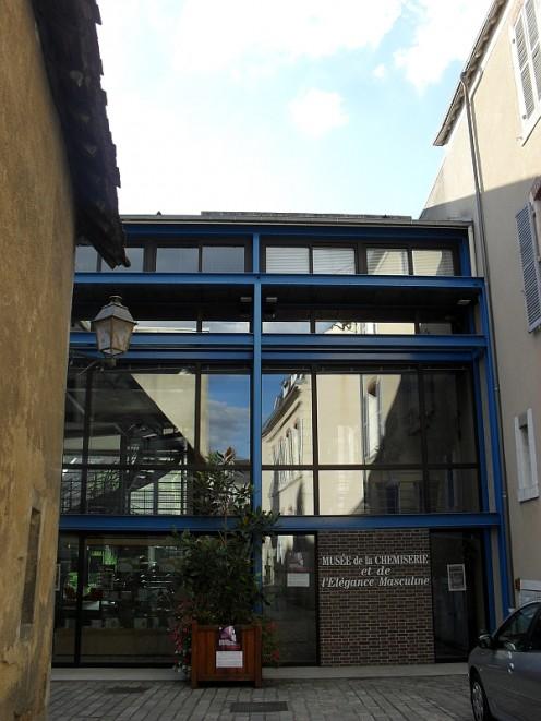 Muse de la Chemiserie et de la elegance Masculine: The main entrance