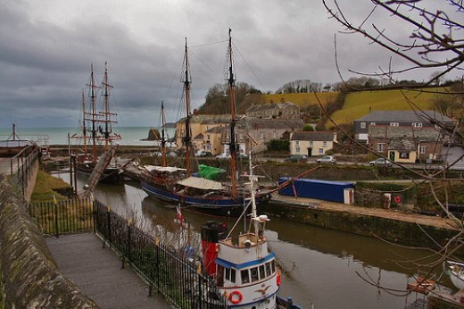 Charlestown Shipwreck Museum: Charlestown Harbour.