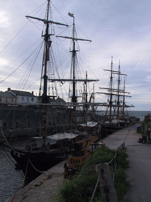 Charlestown Shipwreck Museum: Charlestown Harbour and Tallships.