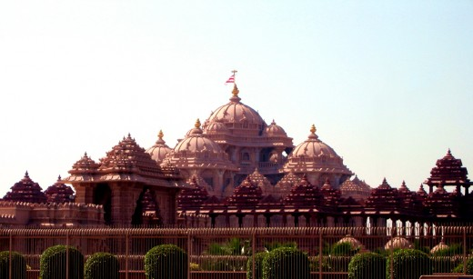 Swaminarayan Akshardham Temple (All Photo credits to akshardham.com - As no camera and mobile is allowed inside)