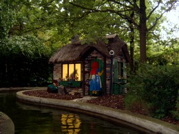 Just one of the creations on Fairy Tale Brook