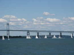 The Bridge over Narragansett Bay, RI