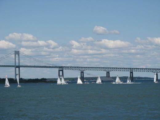 The Bridge over Narragansett Bay, RI