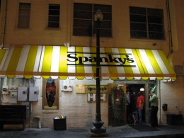 Spanky's Restaurant where we ate the first night in Savannah