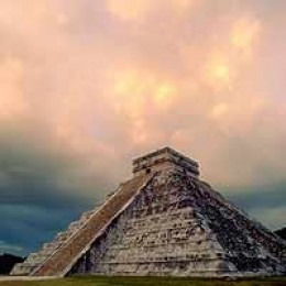 The Pyramid at Chichn Itz
