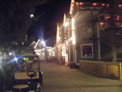 THE STREETS OF SAND DESTIN'S VILLAGE OF BAYTOWN. A LITTLE PIECE OF NEW ORLEANS BOURBON STREEN ON THE EMERALD COAST