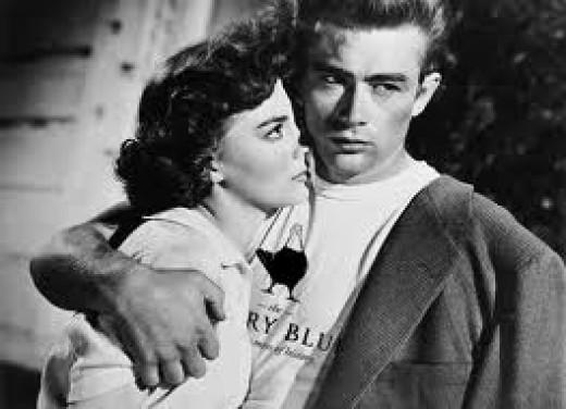 Natalie Wood & James Dean