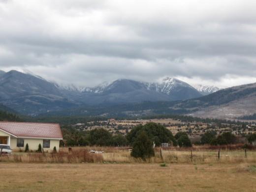 New Mexico's Truchas Peaks