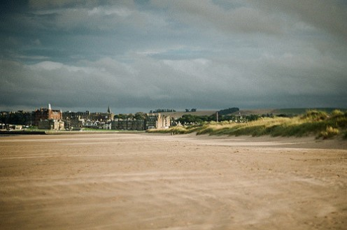 West Sands, St Andrews by Ed.ward shared on Flickr under Creative Commons Licence.