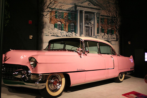 Pink Cadillac Elvis gifted to his mother.