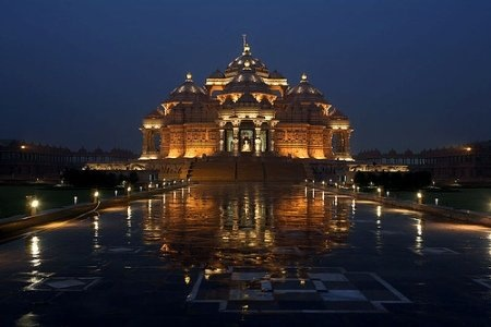 Akshardham @ Night