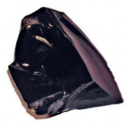 Public domain photo - piece of obsidian