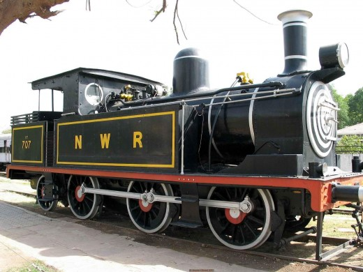 National Rail Museum Locomotive Engines at Shanti Path Chanakyapuri