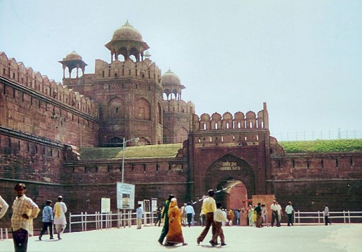 Lahore Gate of Red Fort Delhi
