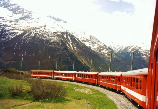 Photo of Glacier Express