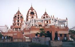 Iskcon Temple - Major Religious Attractions in Delhi