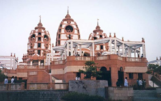 Iskcon Temple - Major Religious Attractions in Delhi
