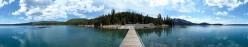 Public domain image - Paulina Lake
