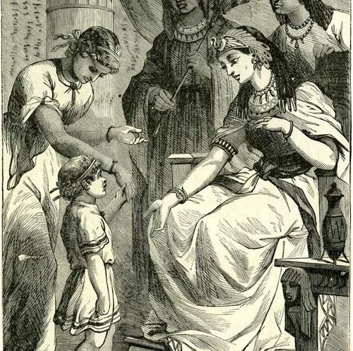 From: The Devotional And Practical Pictorial Family Bible, Copyright, By J. R. Jones, 1879.