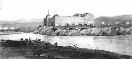 Fort Laramie 1849