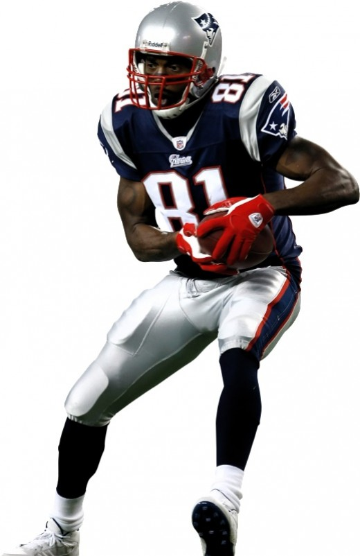 Randy Moss as a Patriot - 2010 he suited up as a Minnesota Viking and now a Tennessee Titan