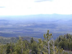 What you can see from Paulina Peak