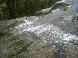 Indian Falls along the trail to Mt. Marcy