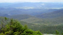 Lake Placid as seen from Mt. Marcy