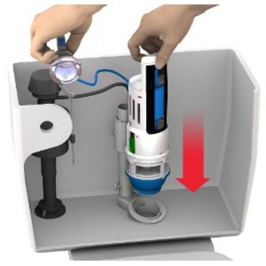 Dual Flush Converter