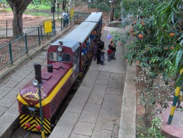 Toy Train in Cubbon Park