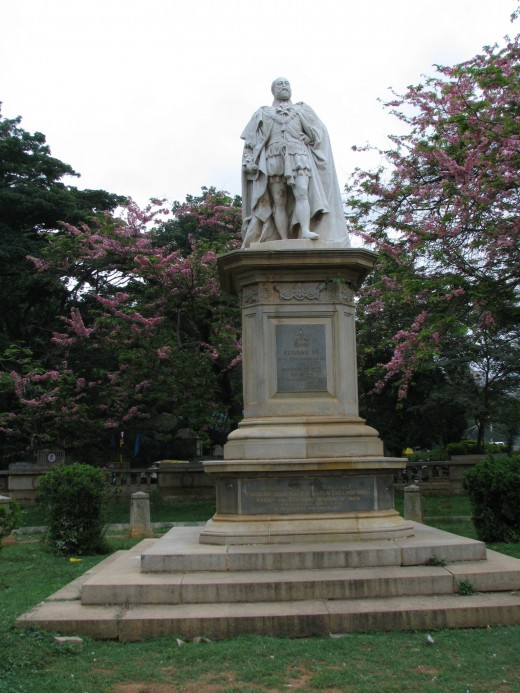 King Edward VII statue in Cubbon Park