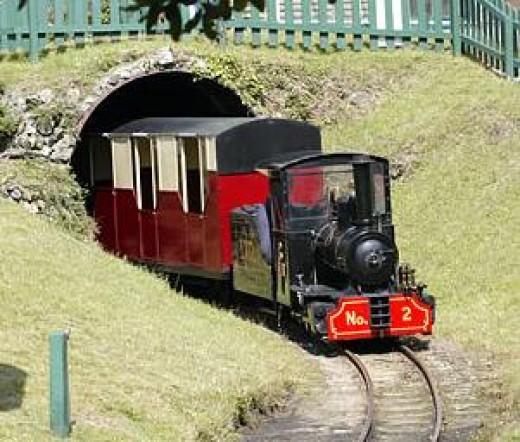 Lappa Valley Steam Railway, Newquay, Cornwall: Steam Train Rides.
