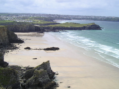 Newquay Beaches - Whipsiderry.    Photo by: EuropeALaCarte.co.uk
